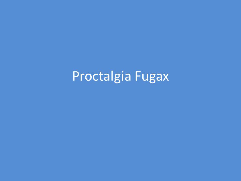 Proctalgia Fugax