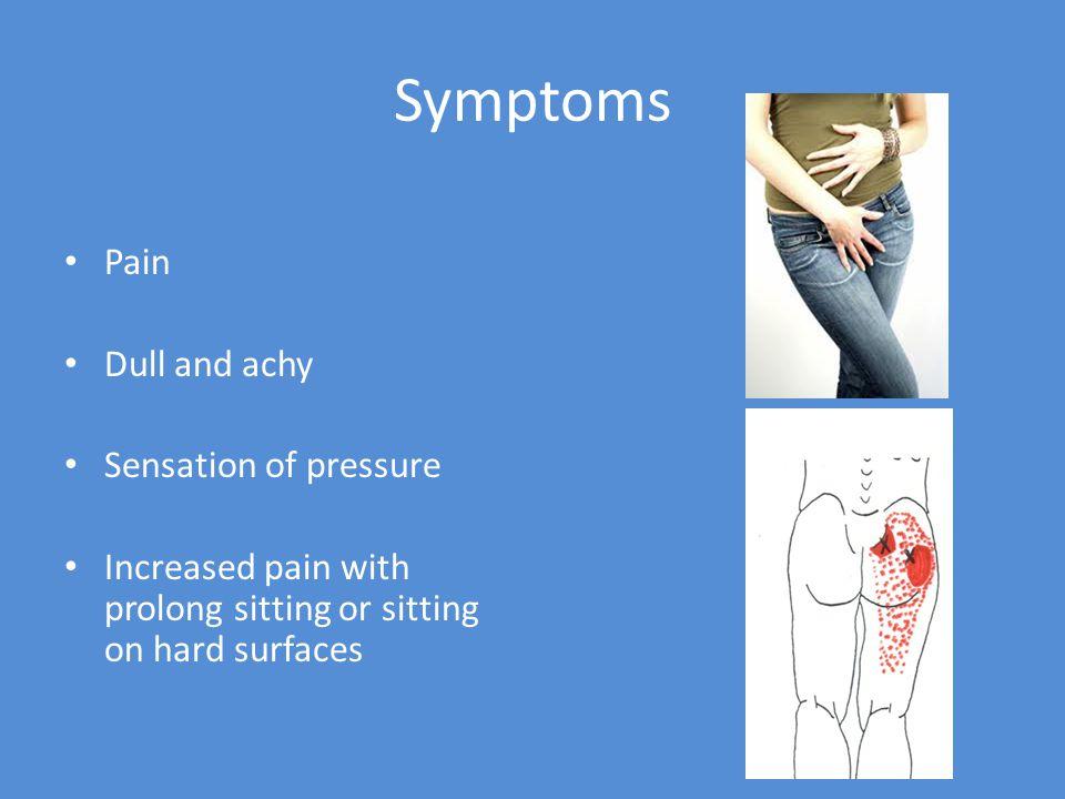Pain relief Ice Warm sitz baths Ultrasound Galvanic stim