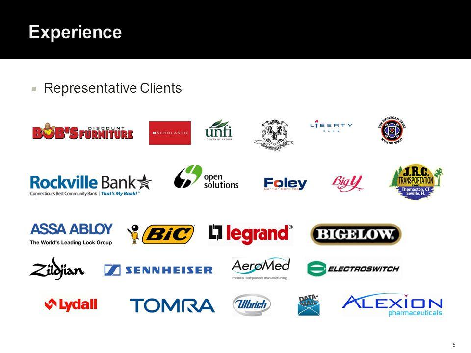  Representative Clients 5