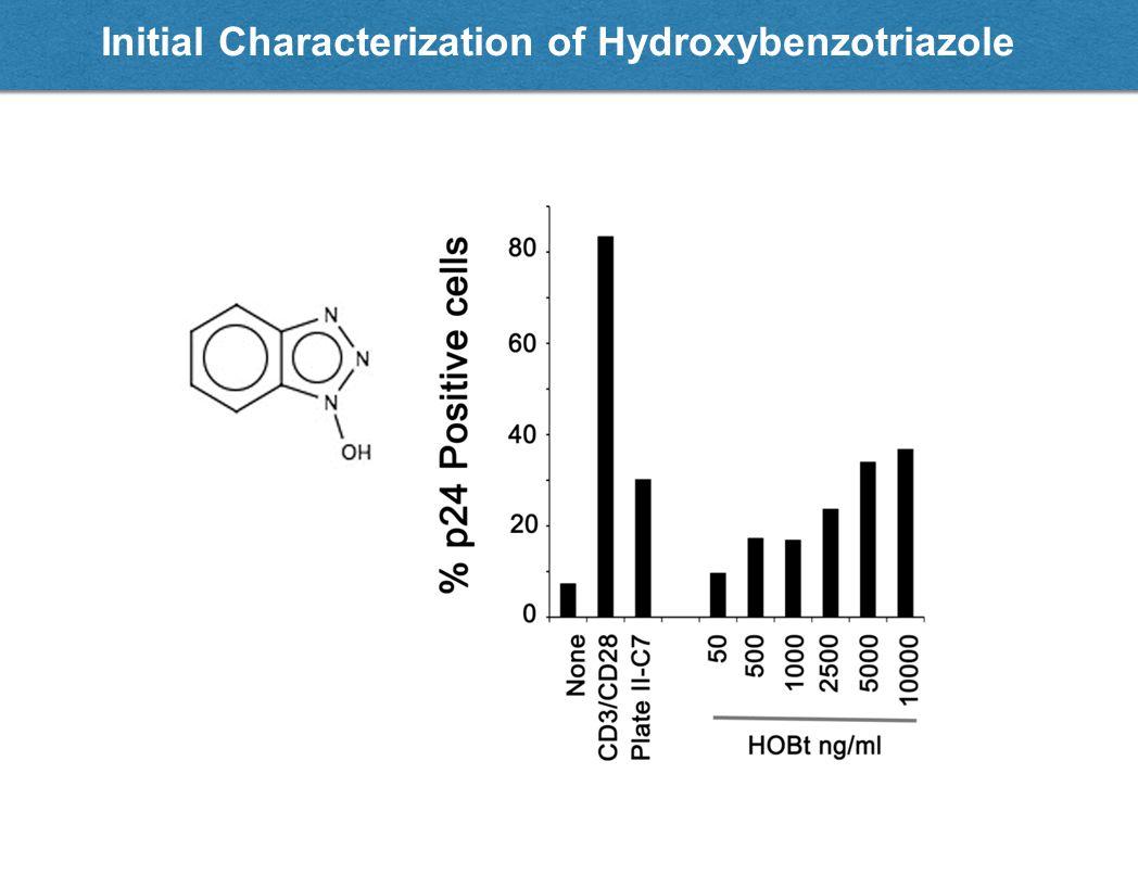 Initial Characterization of Hydroxybenzotriazole