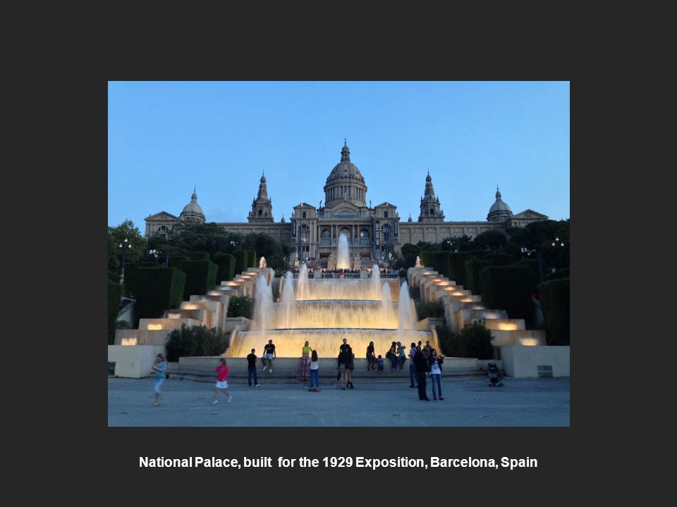 National Palace, built for the 1929 Exposition, Barcelona, Spain