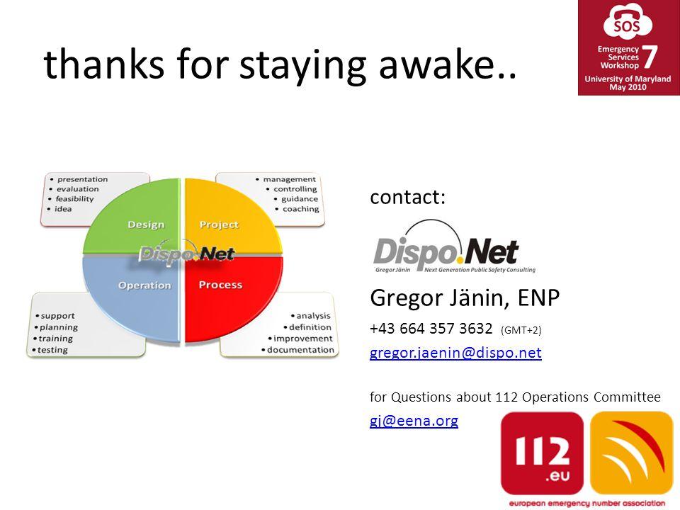 thanks for staying awake..