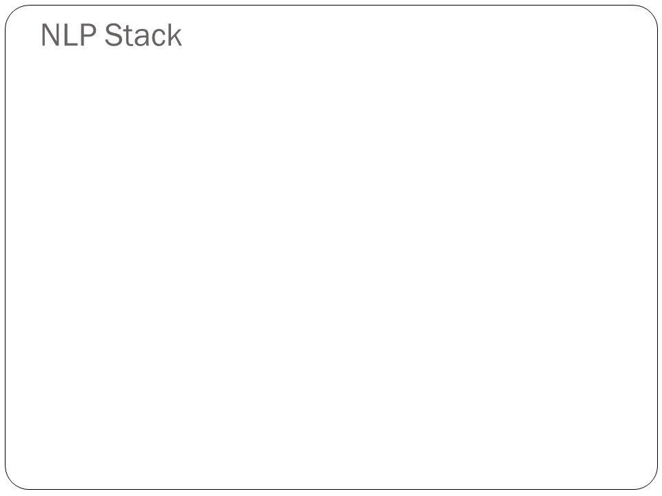 NLP Stack