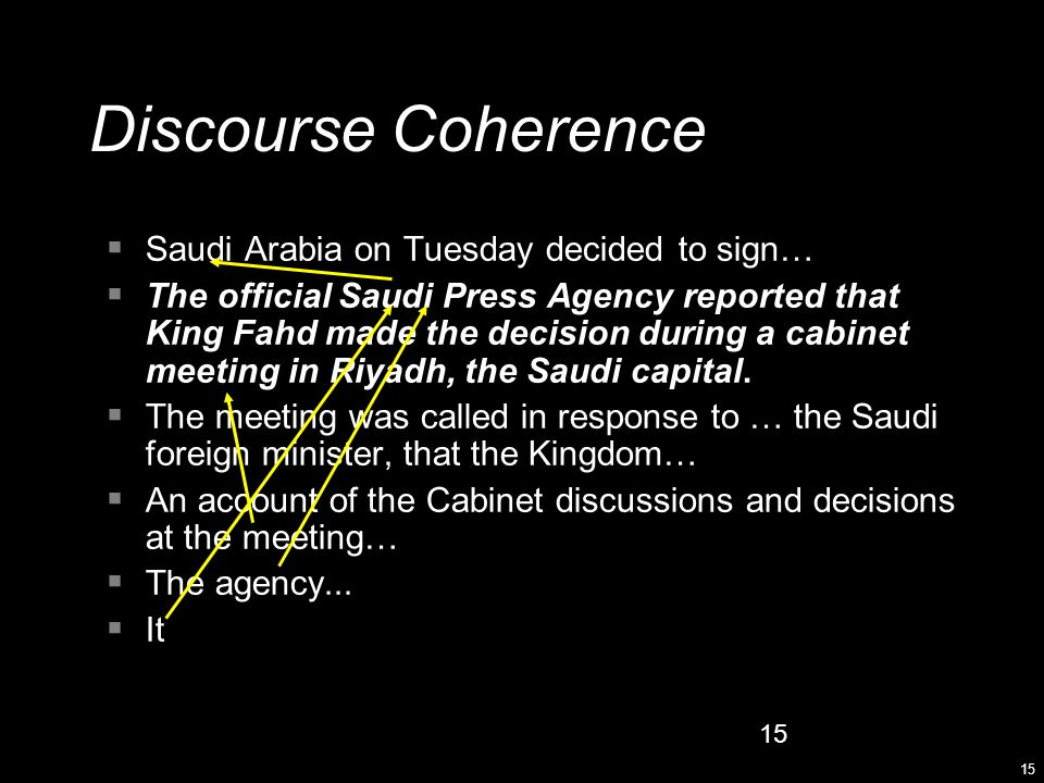 15  Saudi Arabia on Tuesday decided to sign…  The official Saudi Press Agency reported that King Fahd made the decision during a cabinet meeting in Riyadh, the Saudi capital.