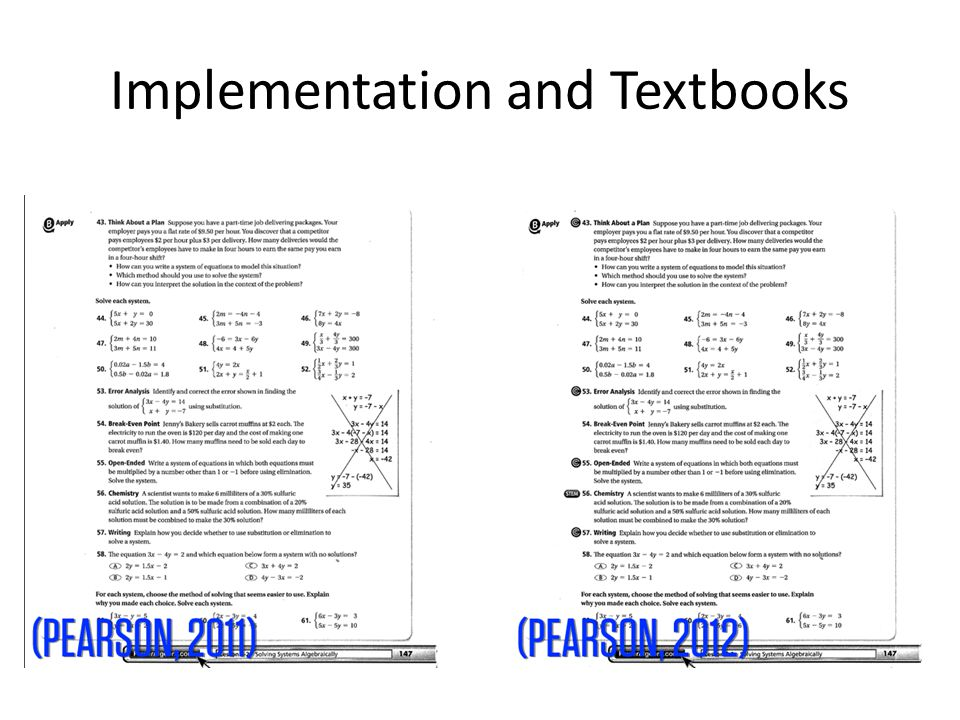 Implementation vs Transition The word implementation tends to refer to the policy aspects of adopting the Common Core.