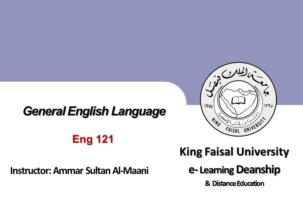 King Faisal University جامعة الملك فيصل Deanship of E-Learning and Distance Education عمادة التعلم الإلكتروني والتعليم عن بعد [ ] 12