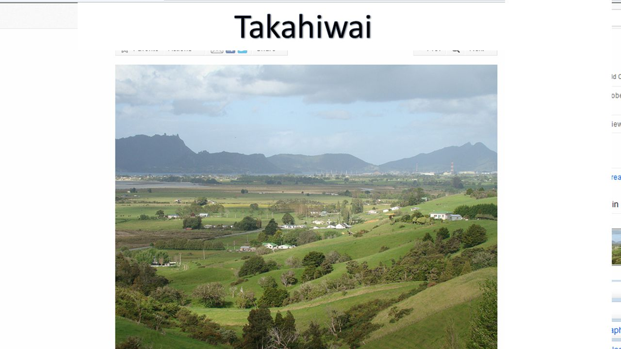 Office of Treaty Settlement and Patuharakeke  Patuharakeke as mana whenua of this rohe is the only group that is best suited for the Crown to settle the historical grievances of our people.