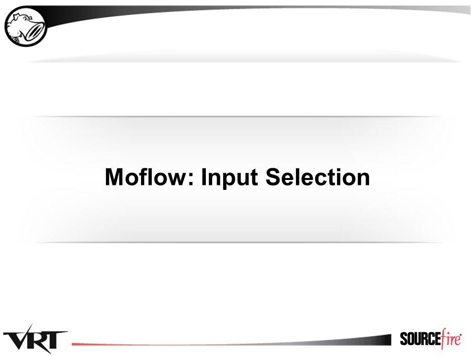 23 Moflow: Input Selection