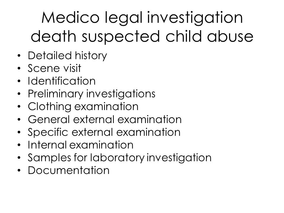 Conclusions Child abuse is very common Often missed by clinicians Must have high index of suspicion Mandated reporters must report suspicion of abuse Complete careful histories and examinations Document, document, document.