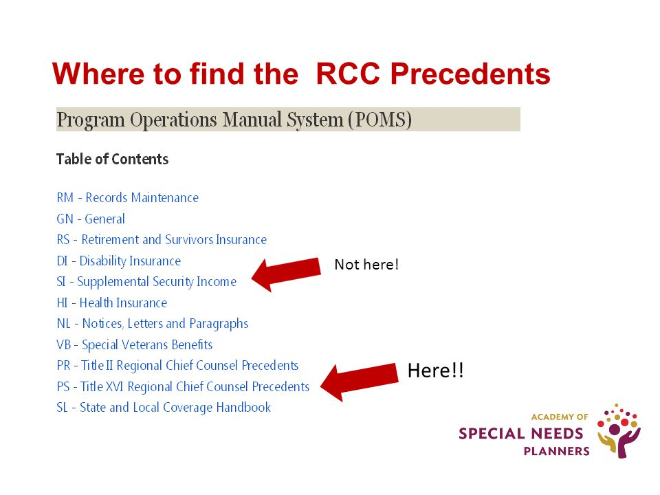 Other random, interesting options in the RCCPs #2 - Personal Service Contracts are allowed – but NOT if you violate the pigs v.