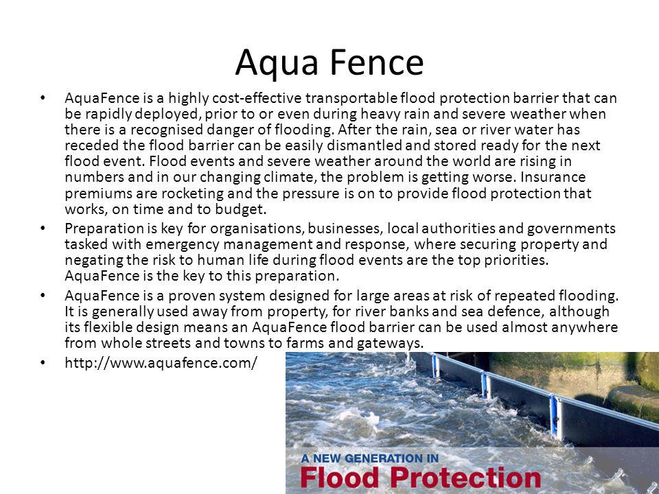 Aqua Fence Cont'd