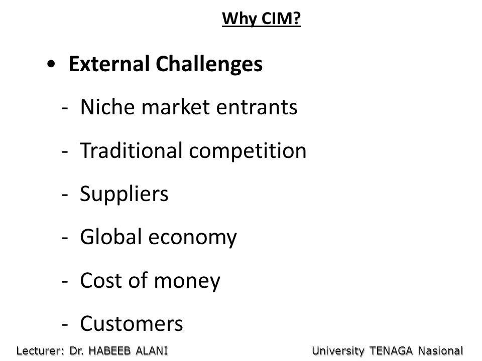 Why CIM.