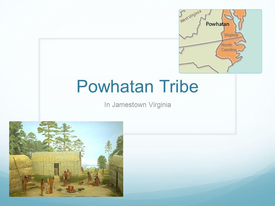 Powhatan Tribe In Jamestown Virginia