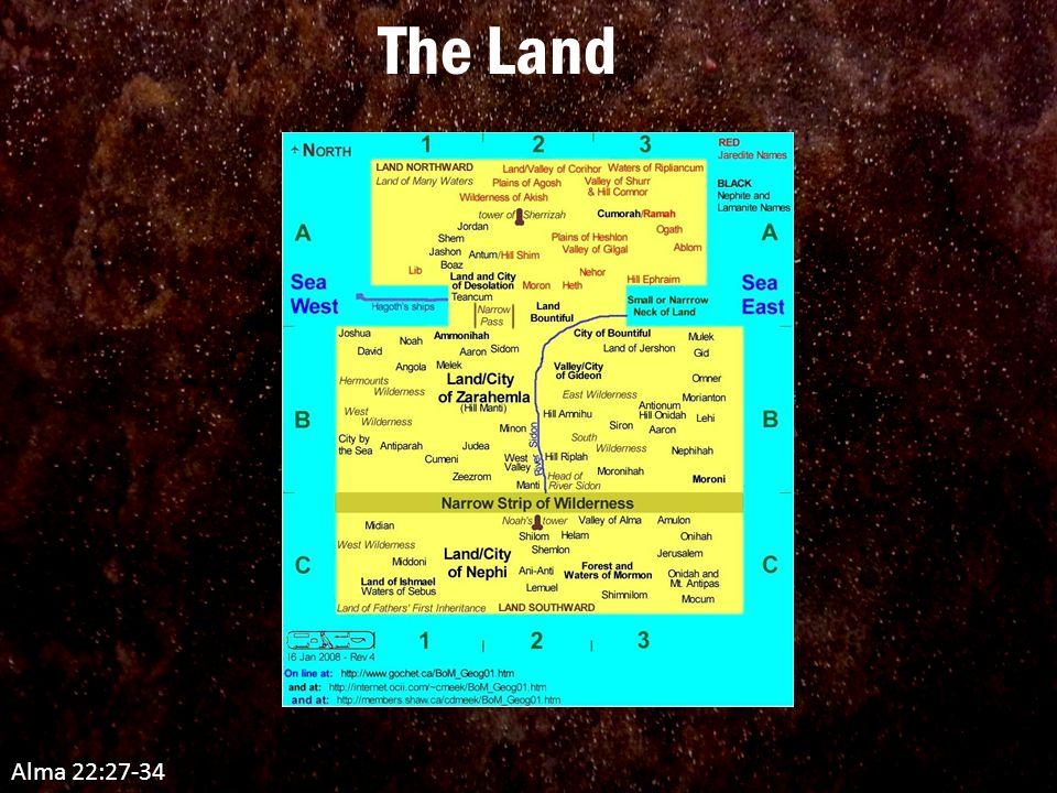 The Land Alma 22:27-34