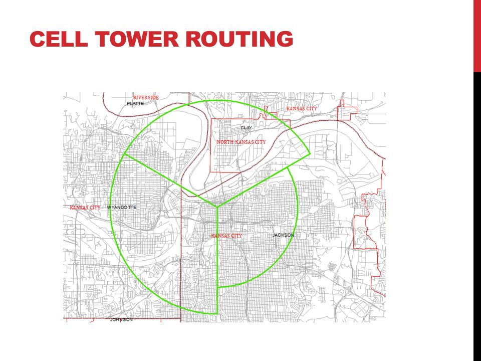 CELL TOWER ROUTING