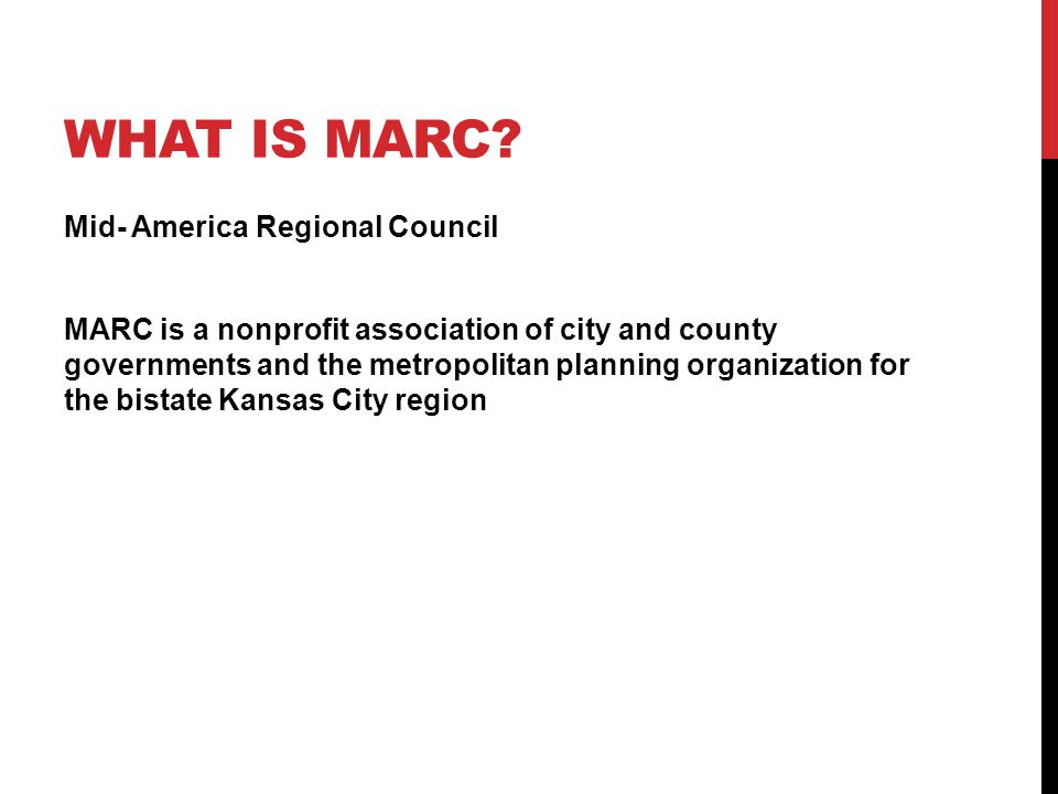 WHAT IS MARC.
