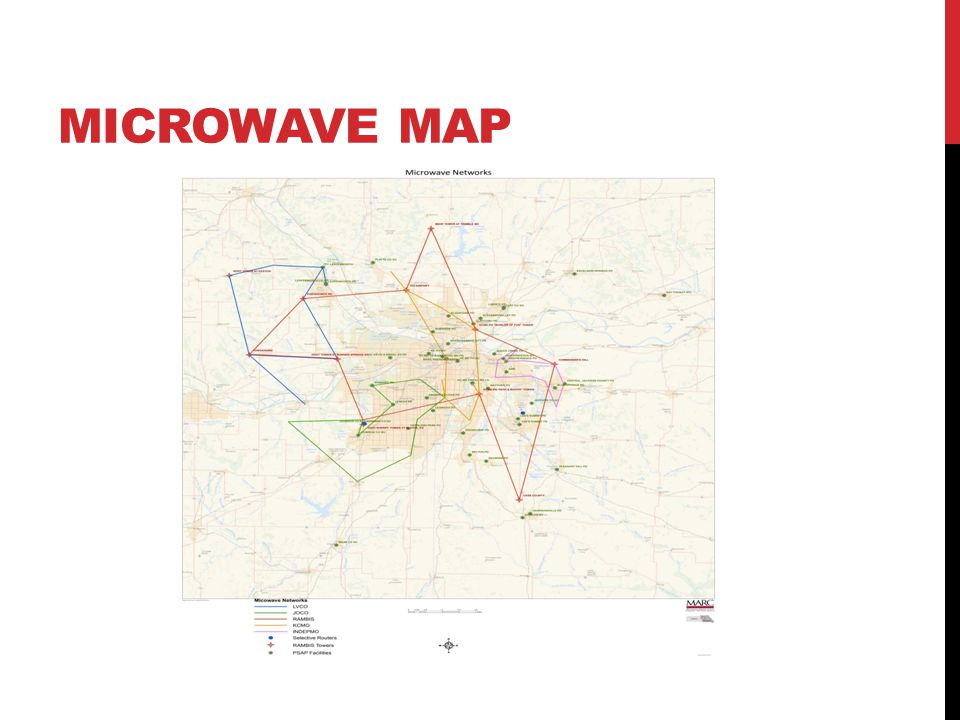 MICROWAVE MAP
