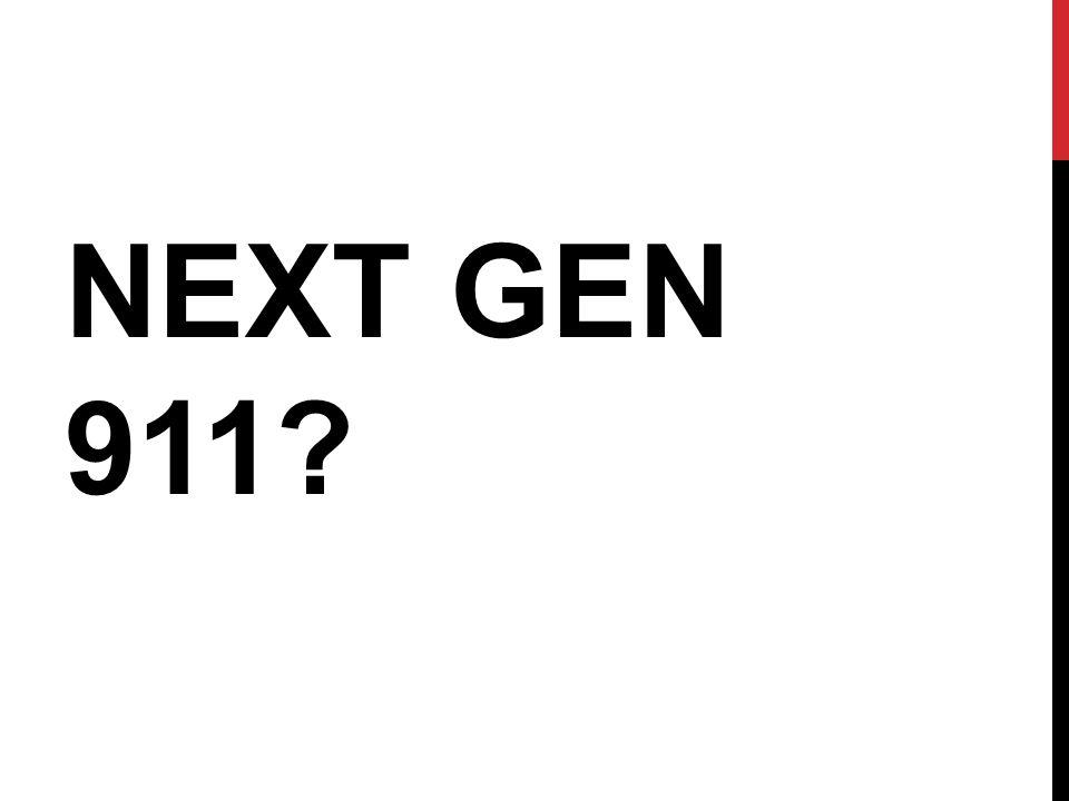 NEXT GEN 911