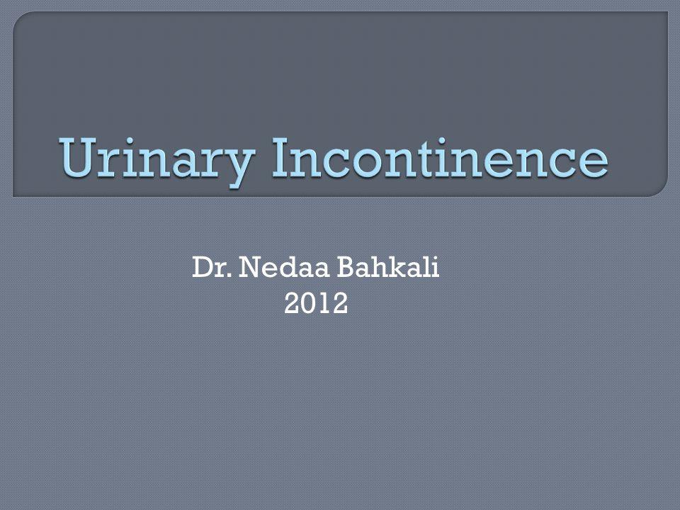 Dr. Nedaa Bahkali 2012