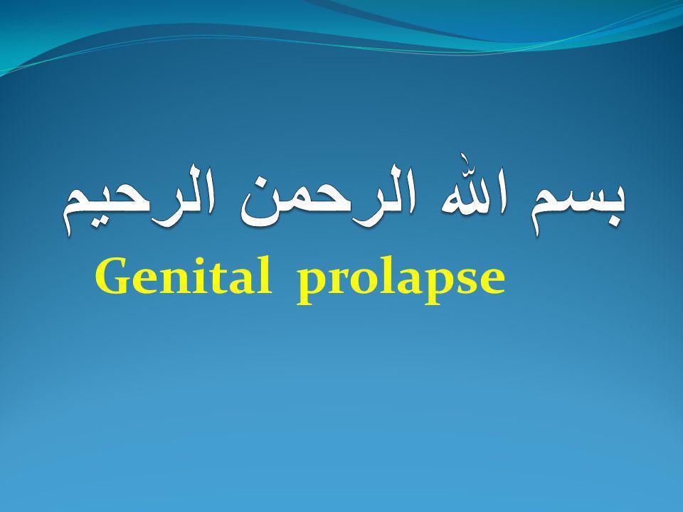 Genital prolapse