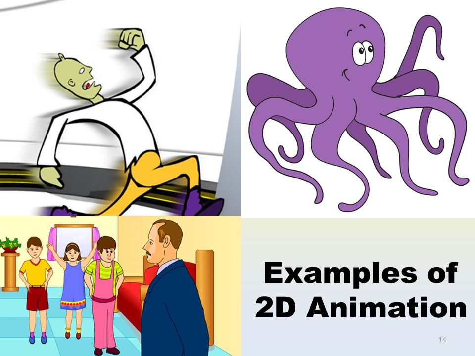 Examples of 2D Animation 14