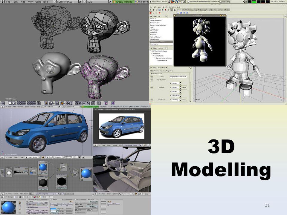 3D Modelling 21