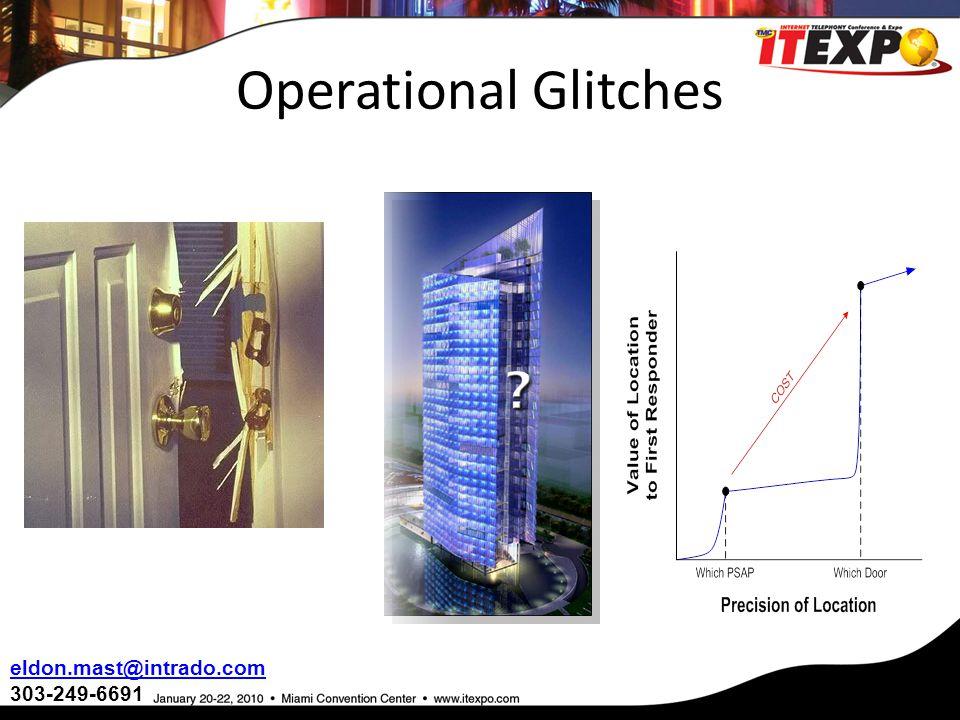 Operational Glitches eldon.mast@intrado.com 303-249-6691