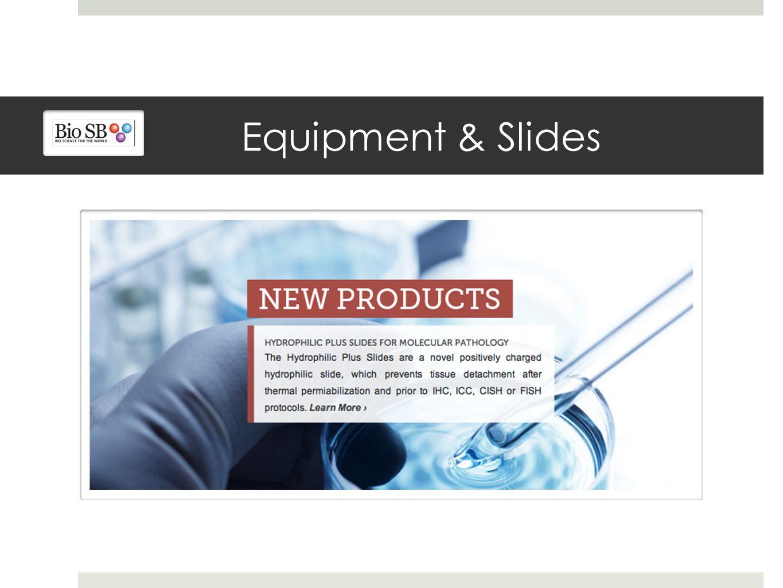 Equipment & Slides