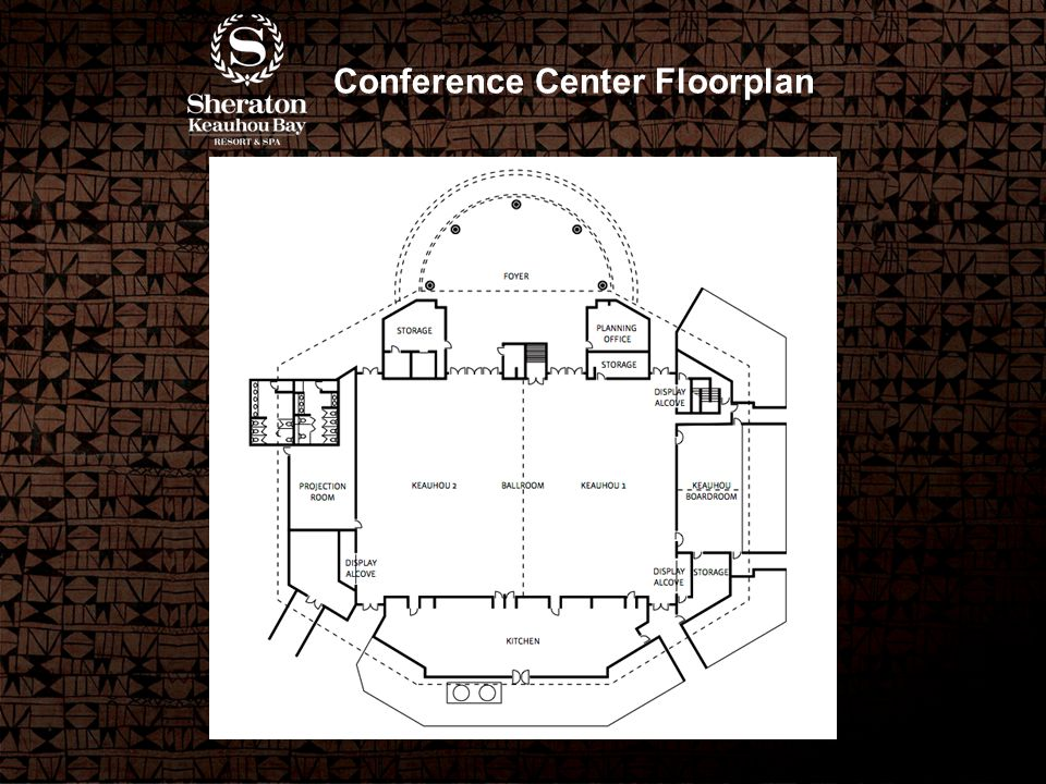 Conference Center Floorplan