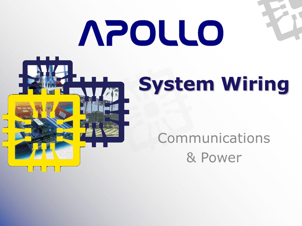 System Wiring Communications & Power