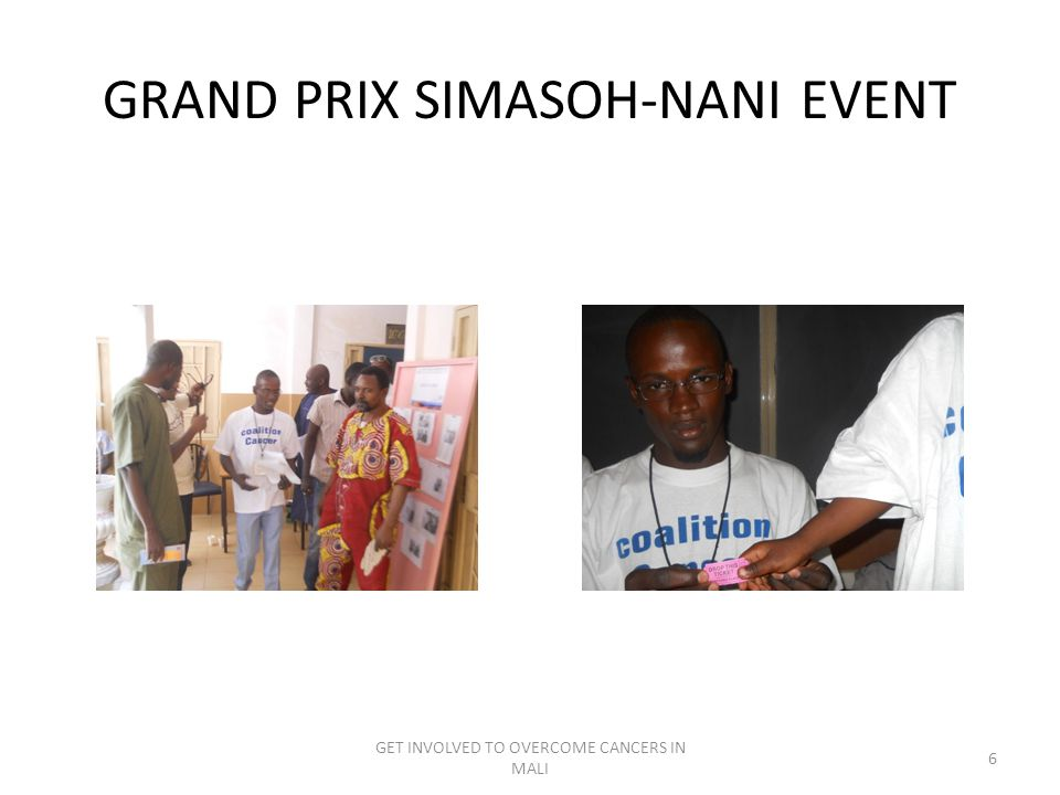GRAND PRIX SIMASOH-NANI EVENT GET INVOLVED TO OVERCOME CANCERS IN MALI 6