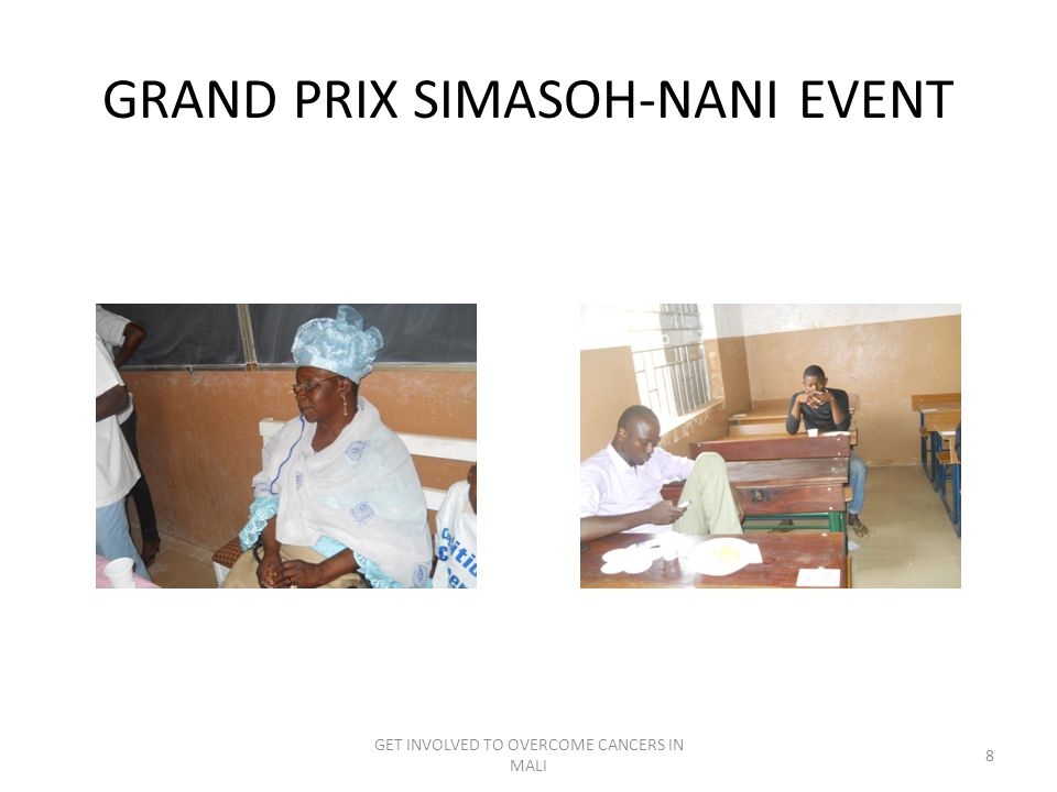 GRAND PRIX SIMASOH-NANI EVENT GET INVOLVED TO OVERCOME CANCERS IN MALI 8