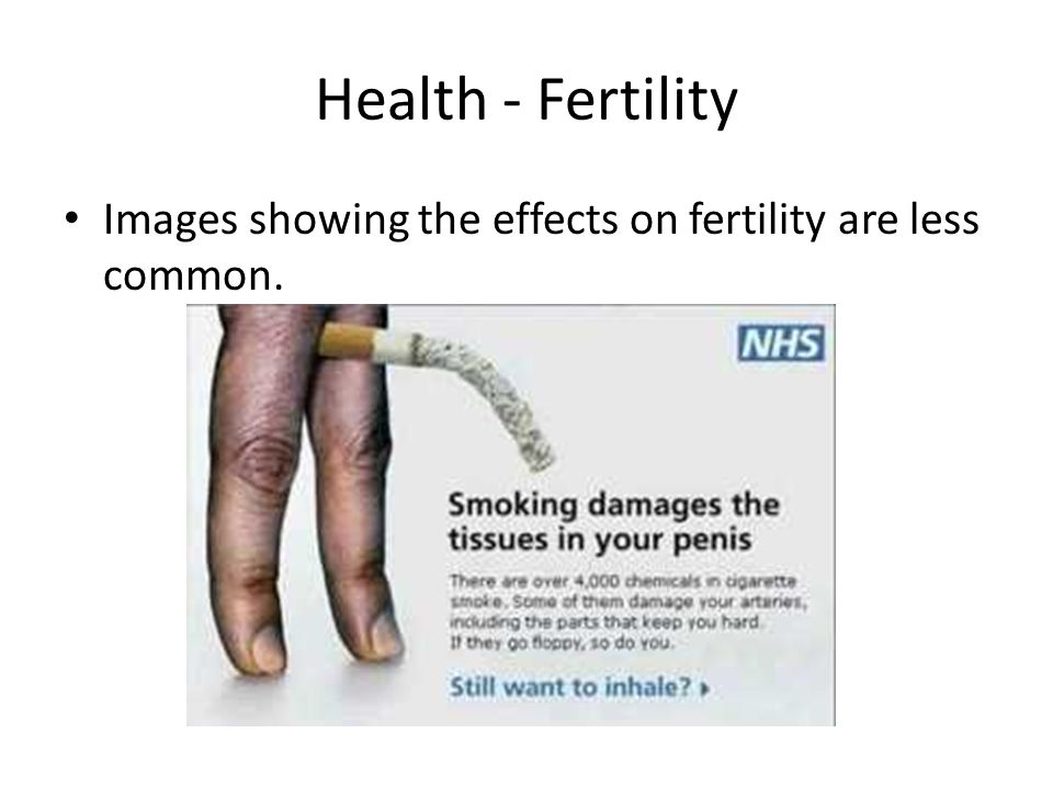Images showing the effects on fertility are less common.