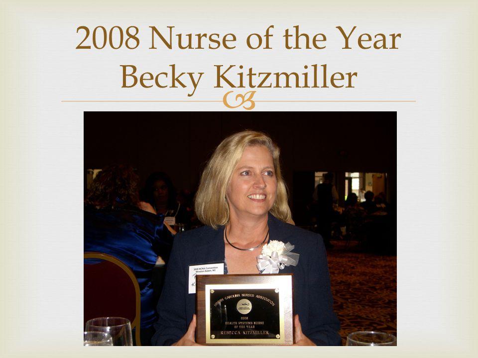  2008 NC Nurse of the Year Berit Jasion