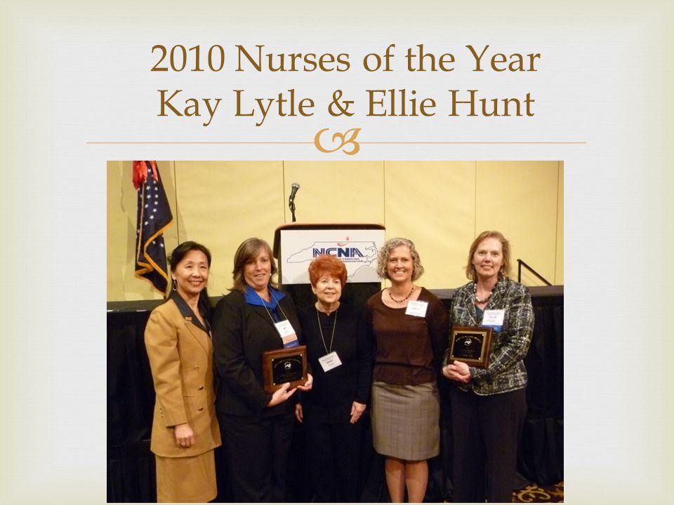  2008 Nurse of the Year Becky Kitzmiller