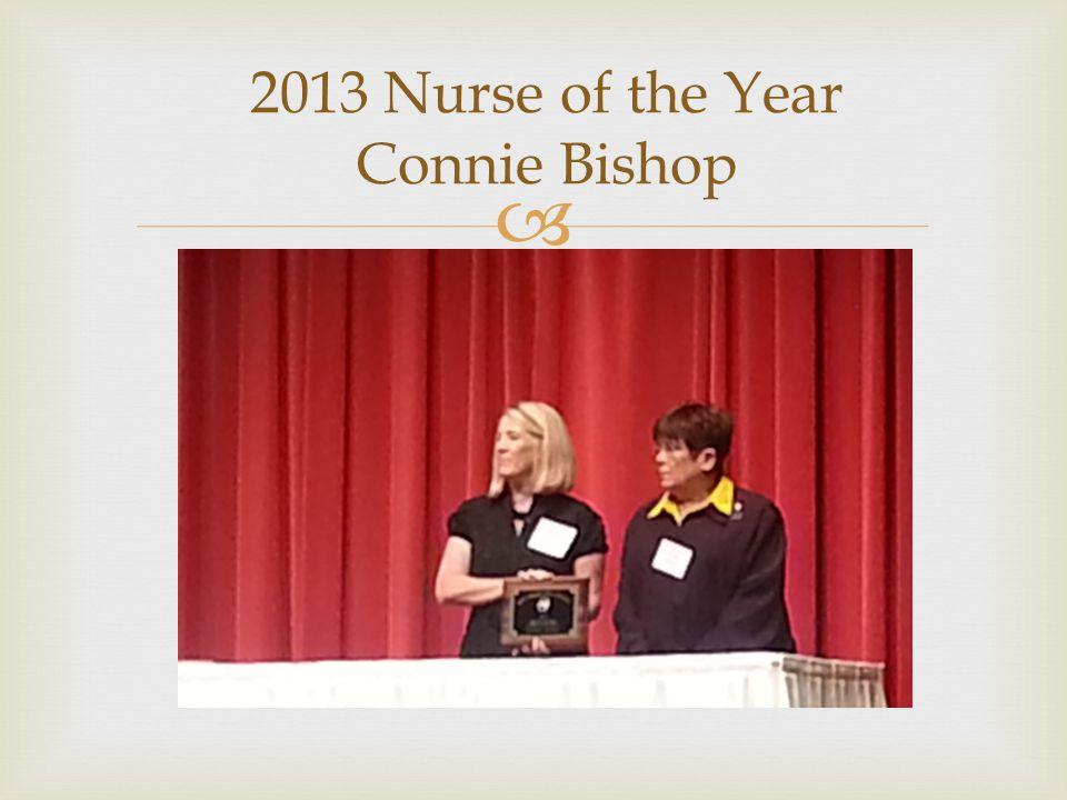  2013 Nurse of the Year Connie Bishop