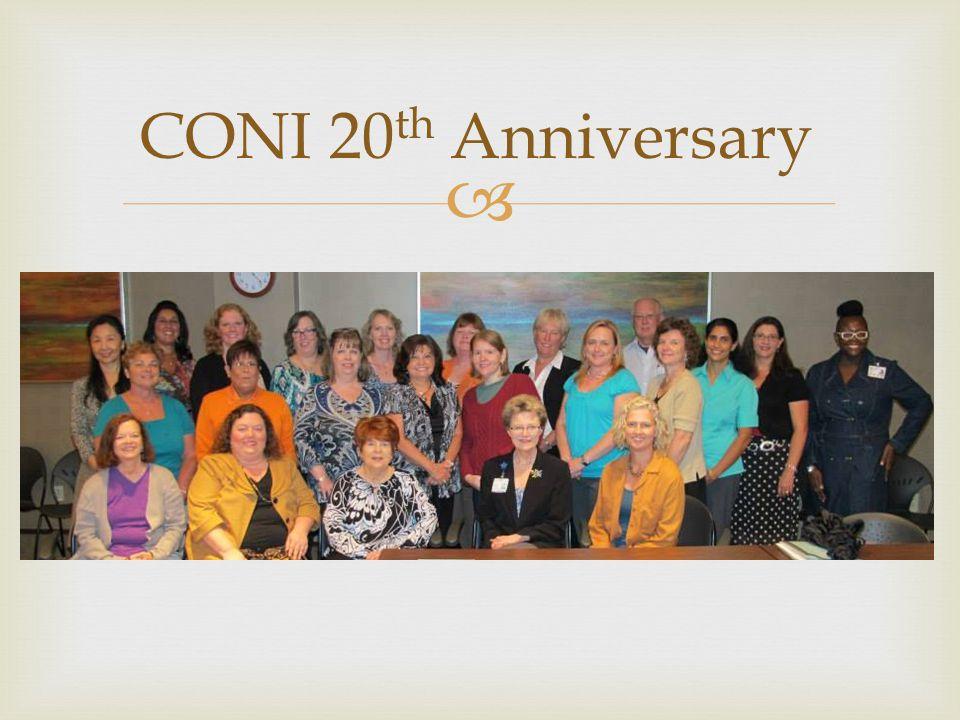  CONI 20 th Anniversary