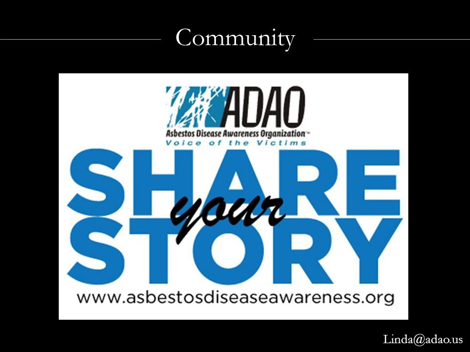 Community Linda@adao.us