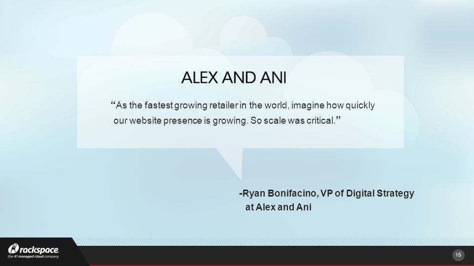 As the fastest growing retailer in the world, imagine how quickly our website presence is growing.