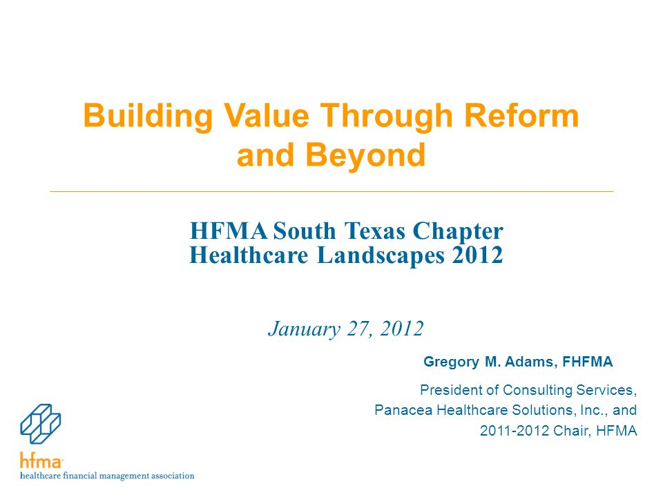 Building Value Through Reform and Beyond Gregory M.