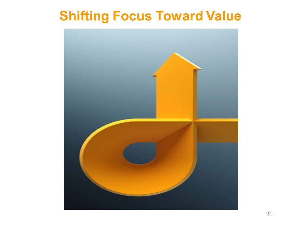 Shifting Focus Toward Value 31