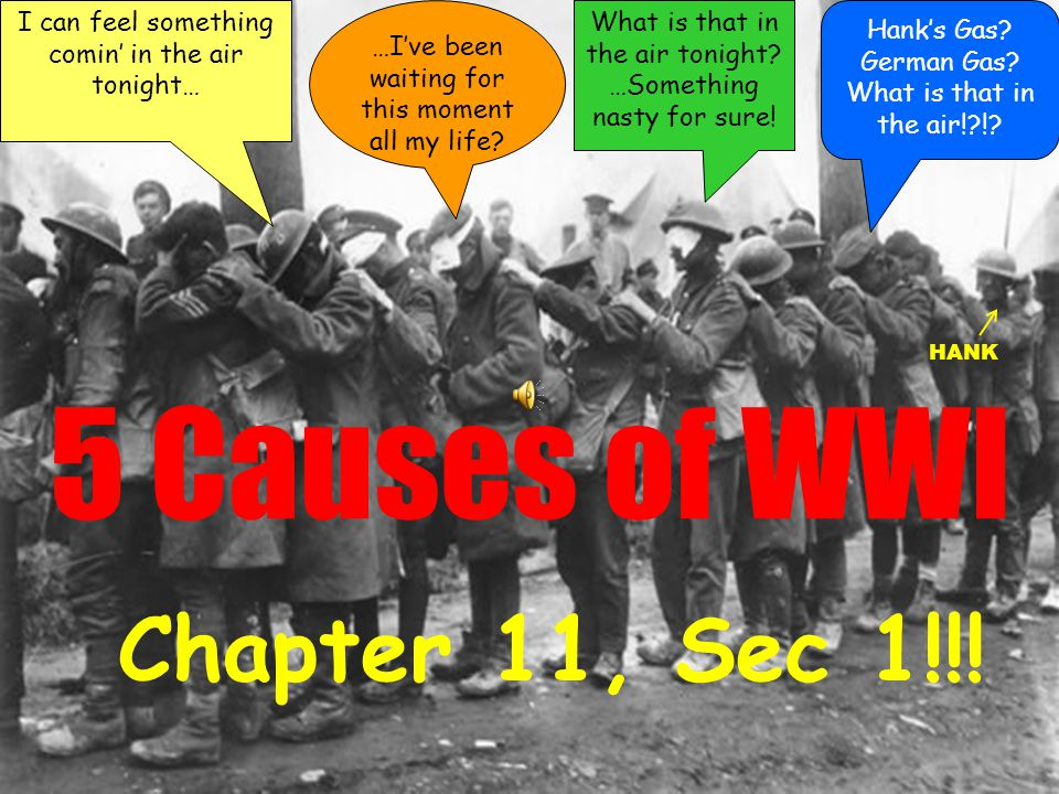 8. What year did WWI start? 1.1890 2.1903 3.1910 4.1914 5.1918