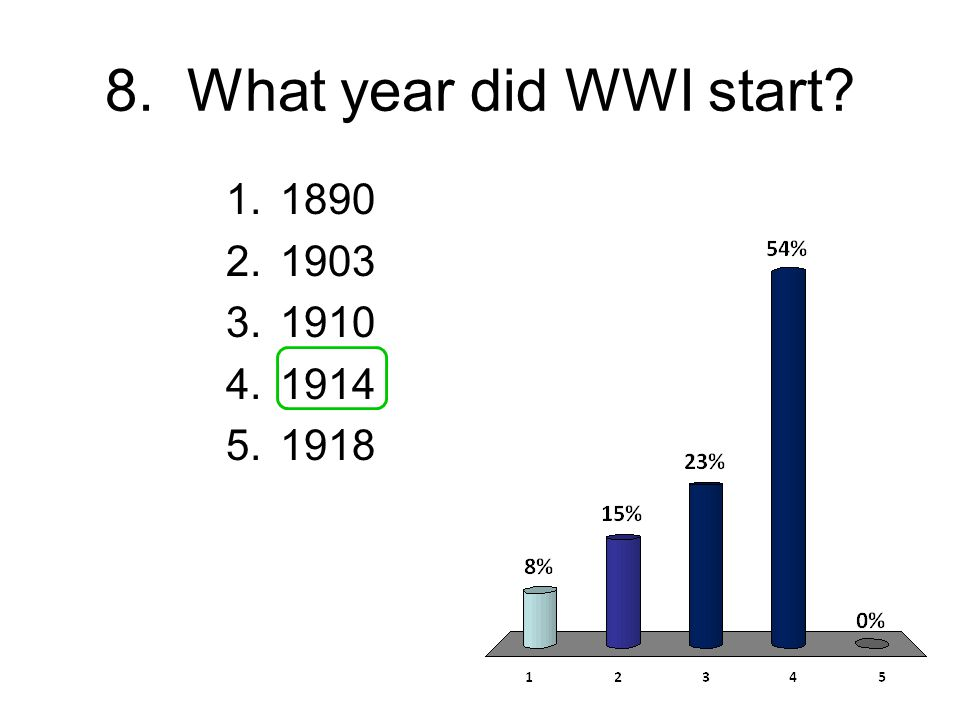 7. Who was assassinated in June of 1914.