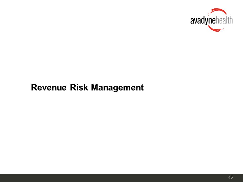 45 Revenue Risk Management
