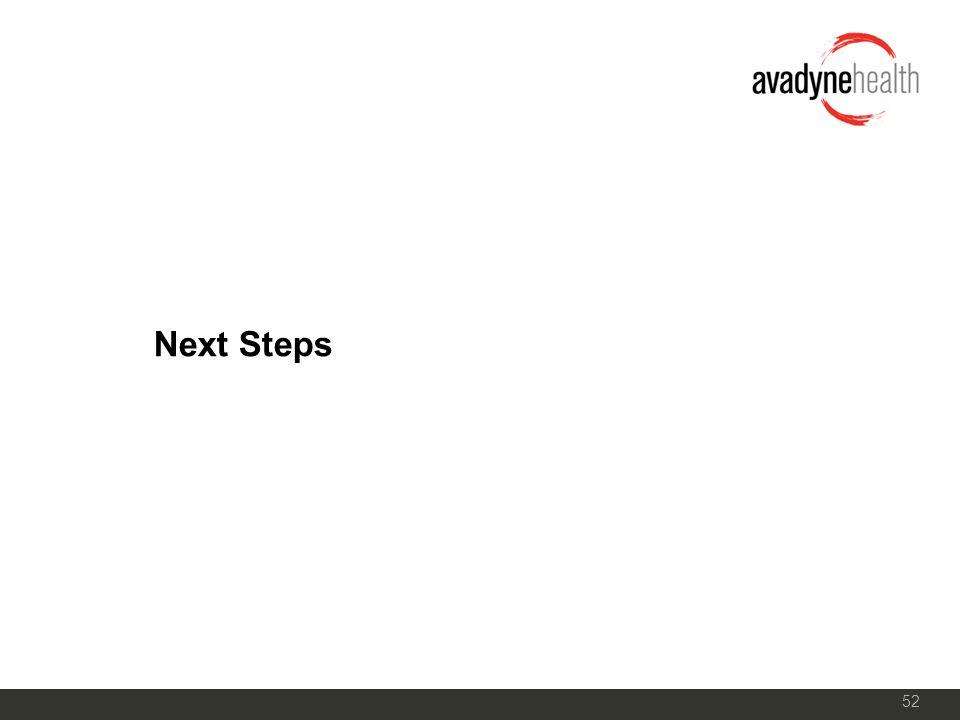 52 Next Steps