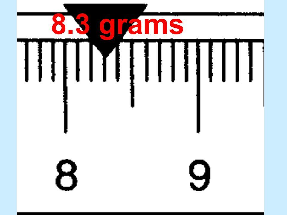 8.3 grams