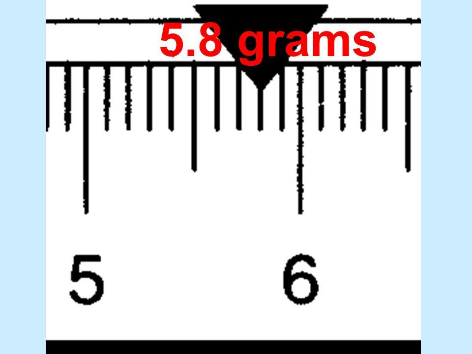 5.8 grams