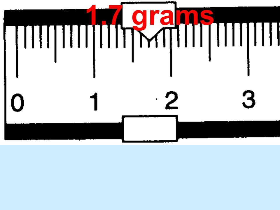 1.7 grams