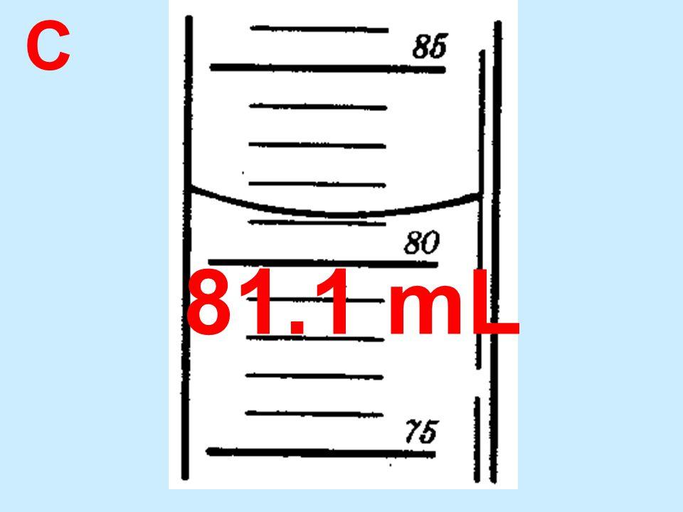 C 81.1 mL