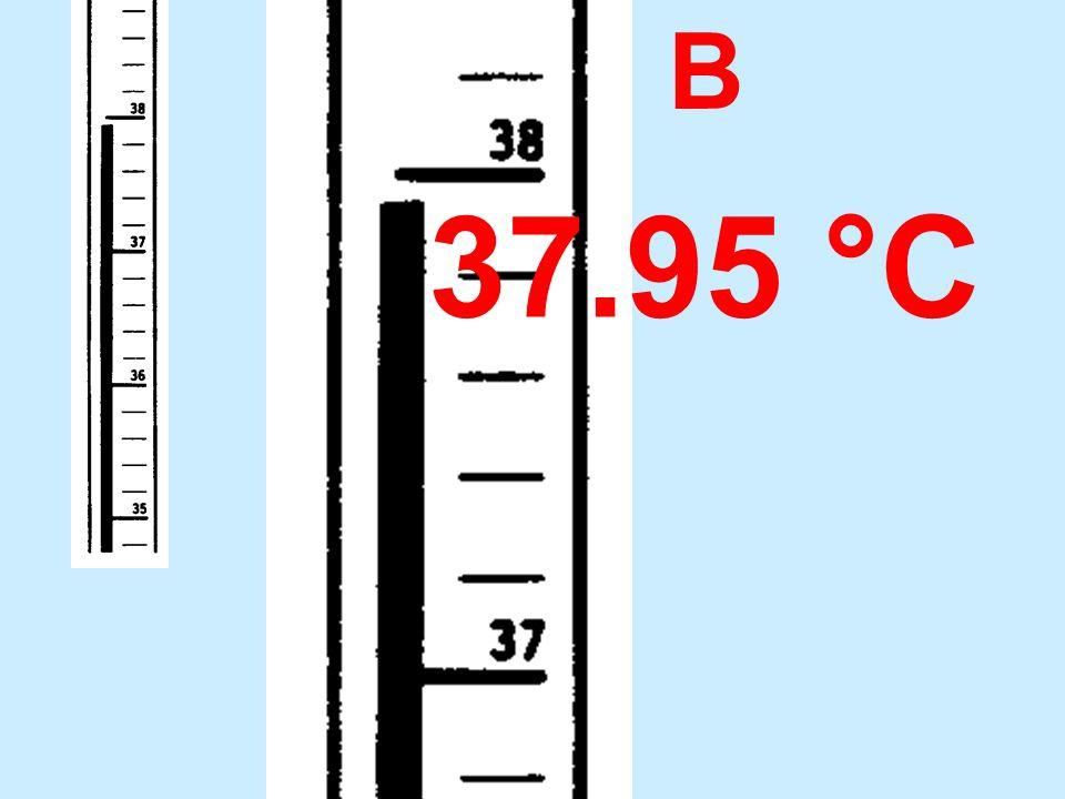 B 37.95 °C
